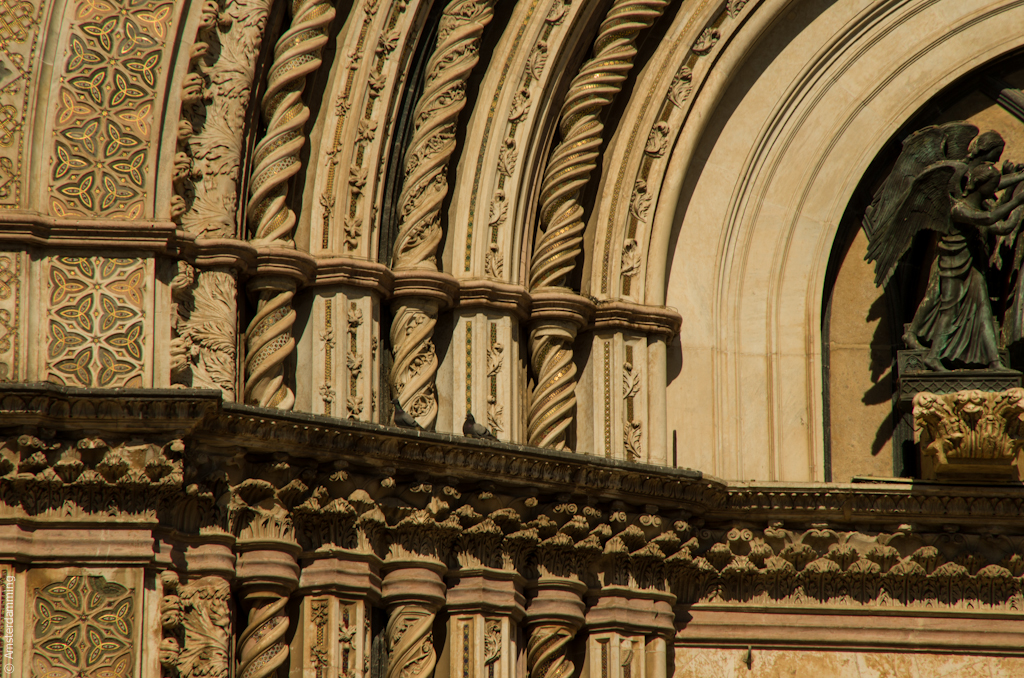 Italy, Dome of Orvieto - Details