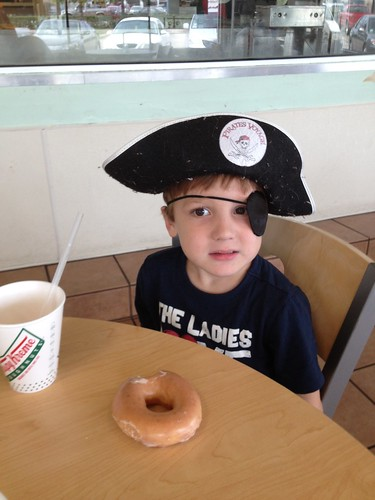 Pirate Day donuts