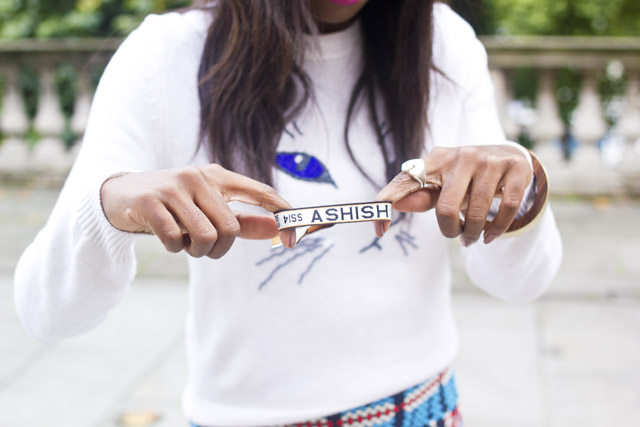 Ashish London Fashion Week Wristband ticket
