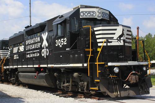 Railfest 2013: NS #3052
