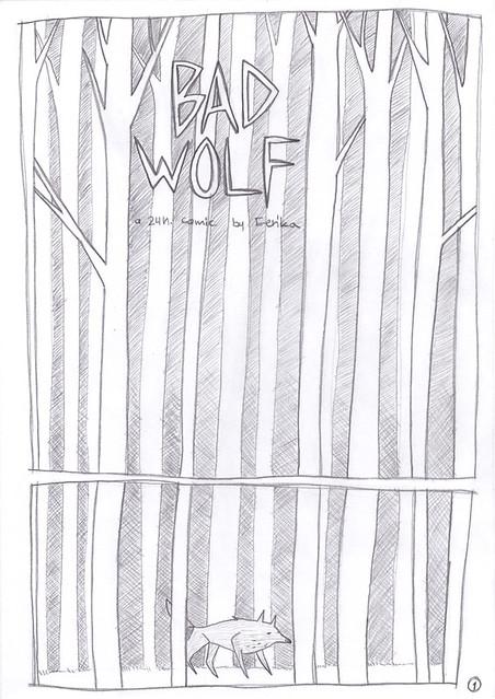 24 Hour Comic, page 1