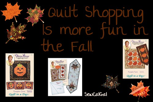 quilt shopping is always fun in the fall