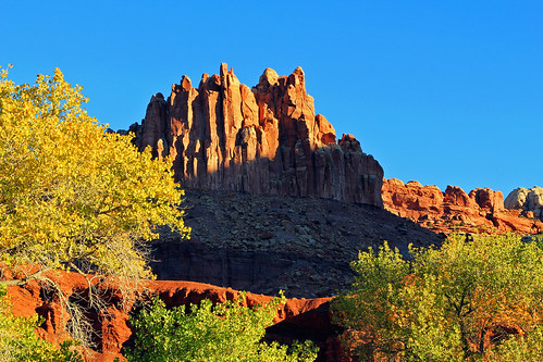 The Castle, Capitol Reef, 18 October 2013