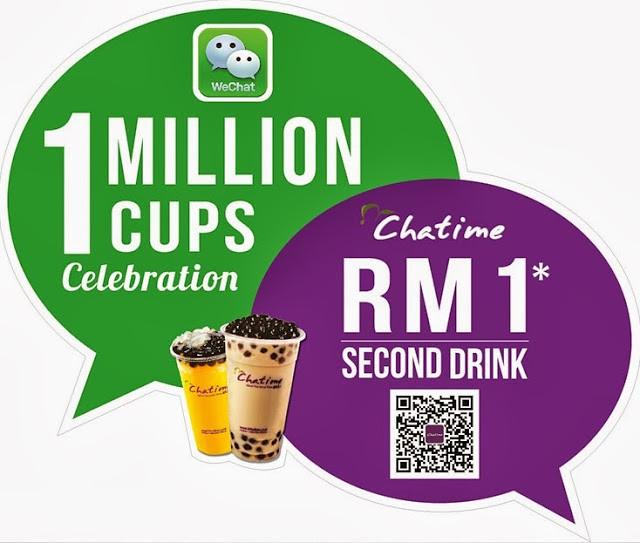 WeChatime 1 Million Cups Celebration 1