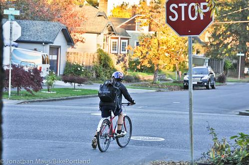 Eleni rides home alone-2