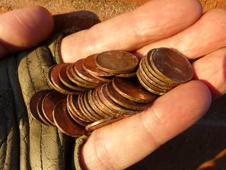 41 pennies!
