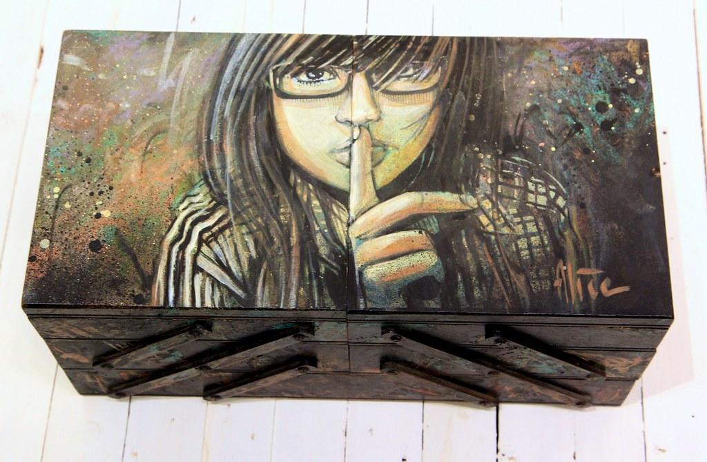 Alice Pasquini - The Living Age (closed)