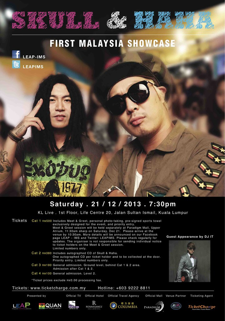 Skull & Haha in KL 2013_Poster_Opt3_ver24