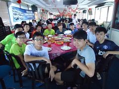 Pontian 5D4N Badminton Trip 2013