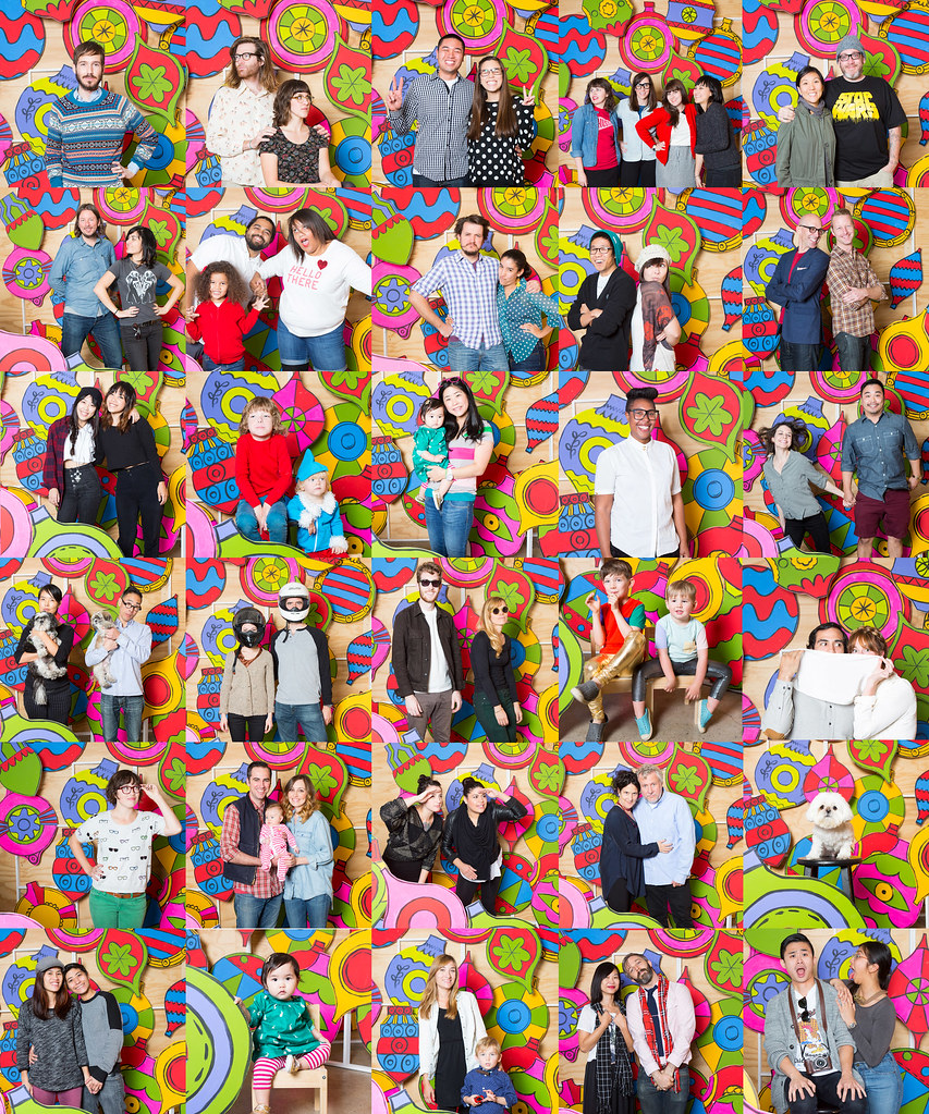 POKETO Holiday Portraits collage...