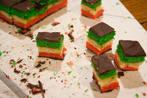 Italian Seven Layer Cookies