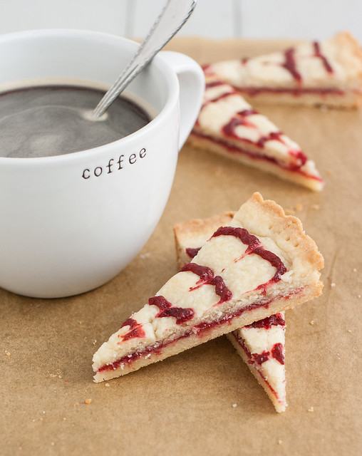 Cranberry Swirl Shortbread