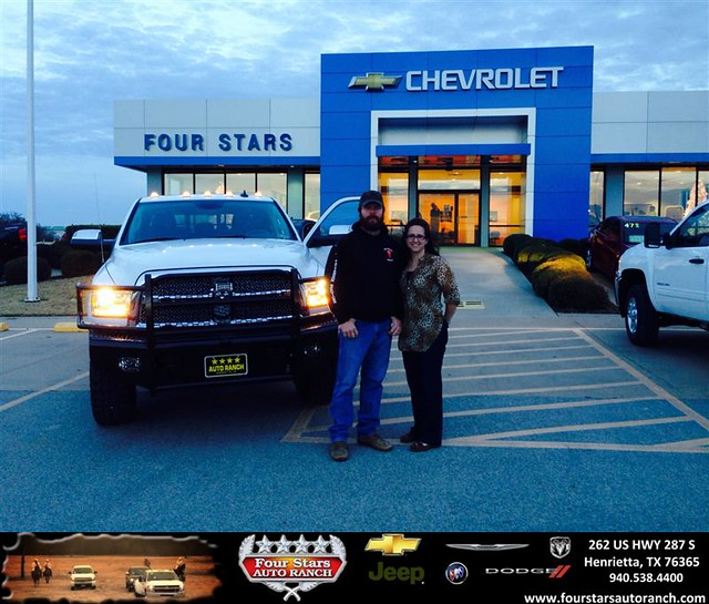 Chevrolet Dealers In Dallas: Thank You To Brent And Toni Kesey On Your New 2013 #Ram