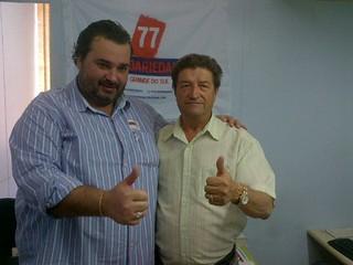 Cláudio Janta e Antonio Schefer