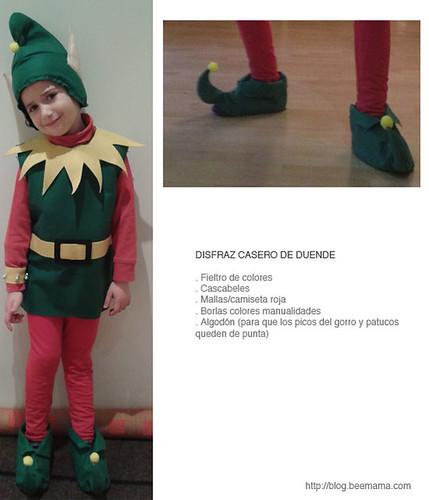 Beemam blog moda beb s ni os diy juguetes y - Disfraces de duendes navidenos para ninos ...