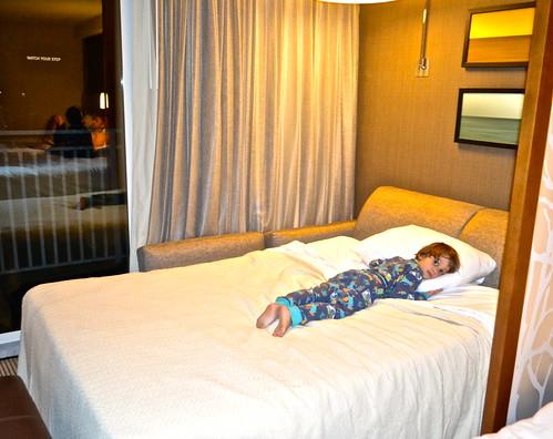 Daytona Beach Hyatt Place  - sleeping area
