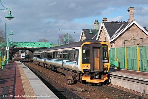 train diesel derbyshire railway passengertrain centraltrains supersprinter class156 shirebrook 156403