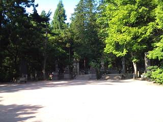 飯盛山・白虎隊士の墓