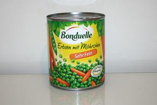 09 - Zutat Erbsen & Möhren / Ingredient peas & carrots