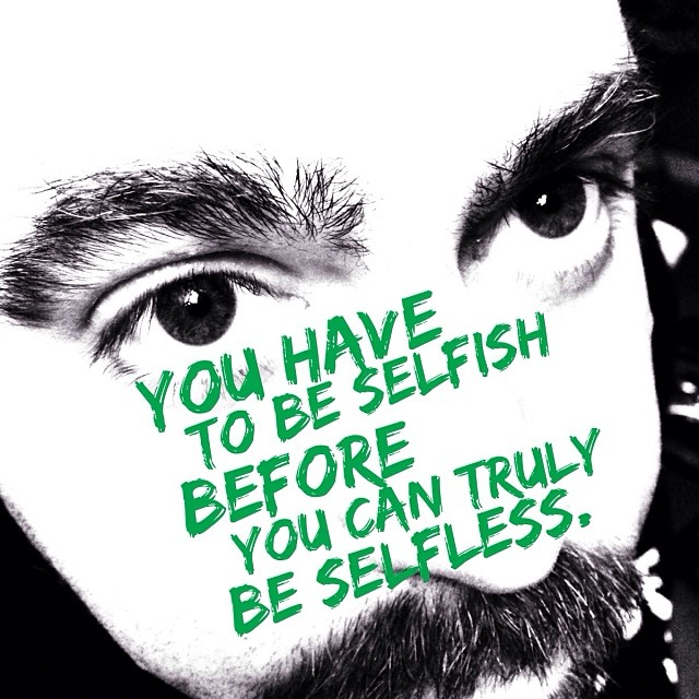 it s not as simple as selfishness vs selflessness charlie  image via adam avitable on flickr