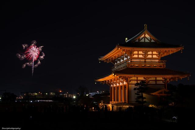 若草山 山焼き 2014 #01