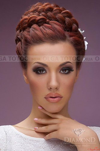 Olga Totoc - Make-up perfect pentru miresele fericite!