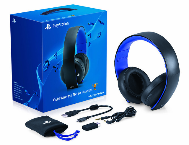 ps4 system update official headset support gold. Black Bedroom Furniture Sets. Home Design Ideas