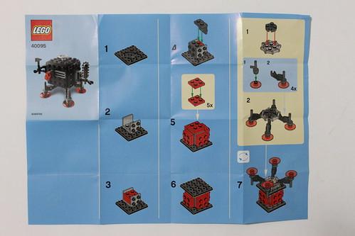The LEGO Movie 40095 Instructions