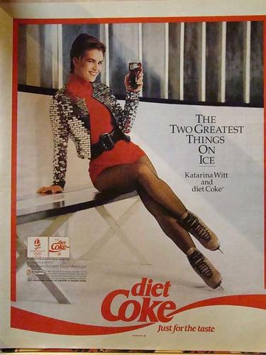katarina witt's diet coke ad