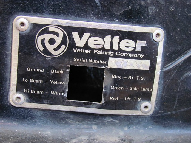 Name Plate with Hole for Wiring Connector