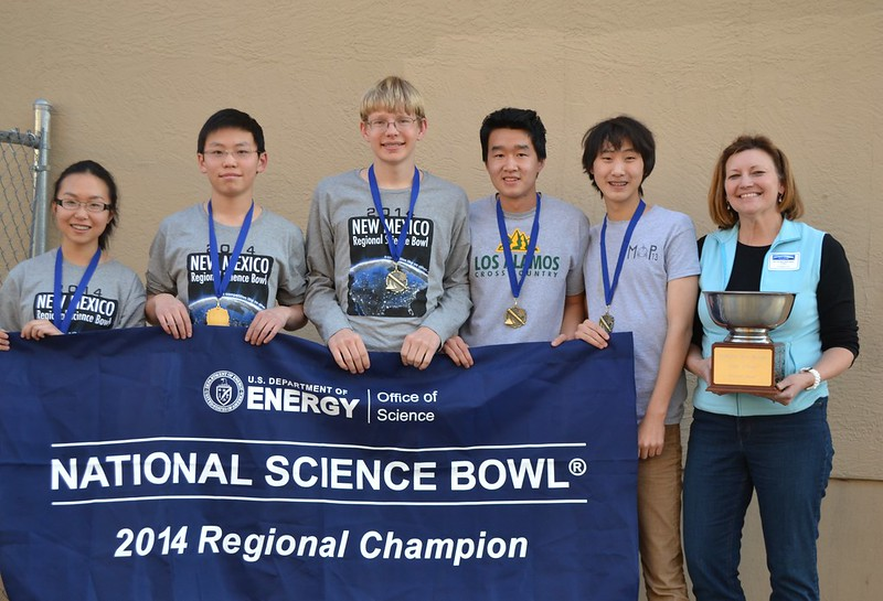 2014 NM Science Bowl champions from Los Alamos High School