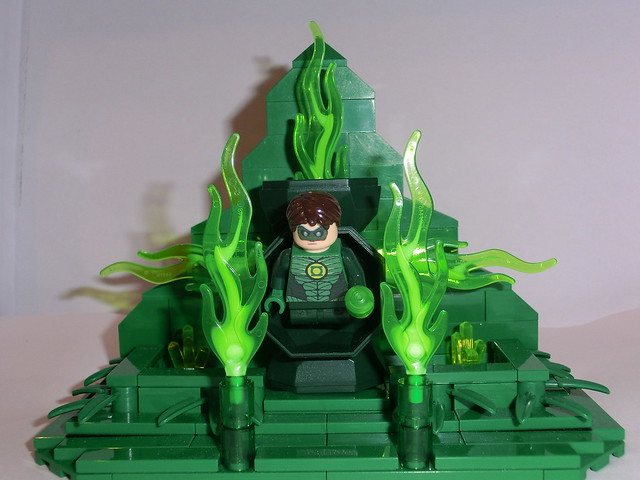 lego moc green lantern power recharge on oa flickr photo