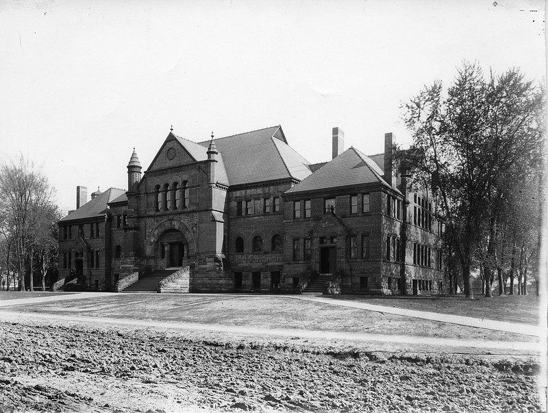 North View of Alumni Hall circa 1895