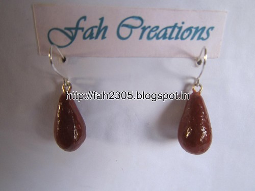 Handmade Jewelry - Modeling Clay Beads Earrings (5) by fah2305