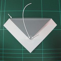 วิธีพับกล่องของขวัญแบบโมดูล่า (Modular Origami Decorative Box) โดย Tomoko Fuse 008