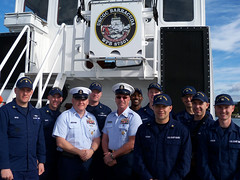 MCPOCG Leavitt visits Sector Humboldt Bay - 2