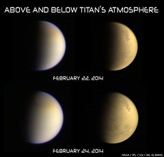 Above and Below Titan's Atmosphere #7