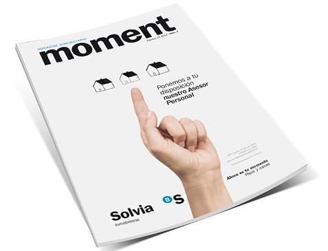 Nueva portada de la revista Moment