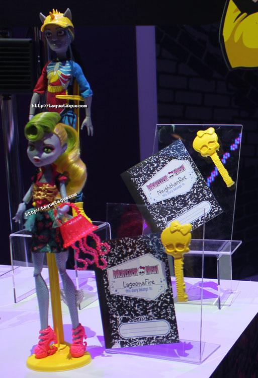 NY Toy Fair 2014 - MH Freaky Fusion: Lagoona & Jinafire