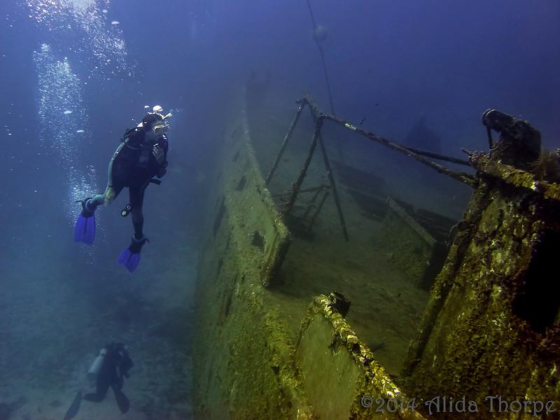 underwater explore