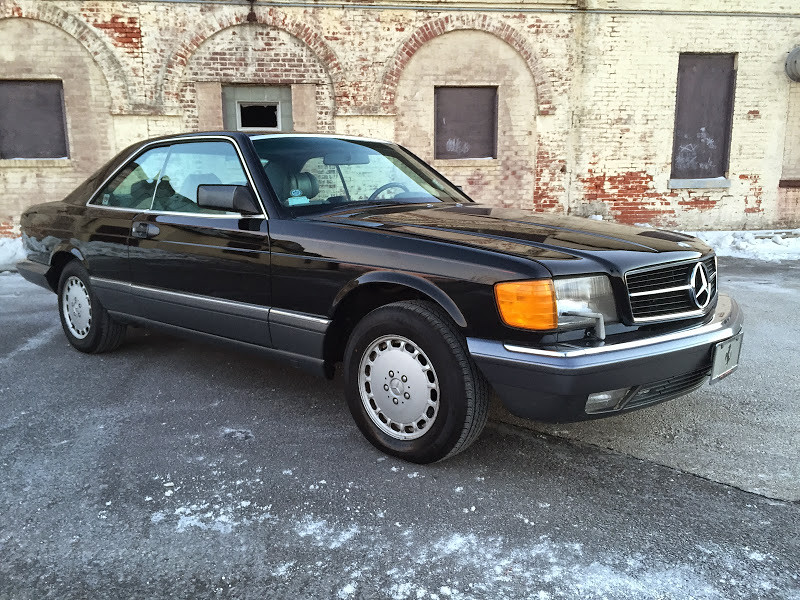 No reserve 1989 mercedes benz 560sec for sale on bat for Mercedes benz 560sec for sale