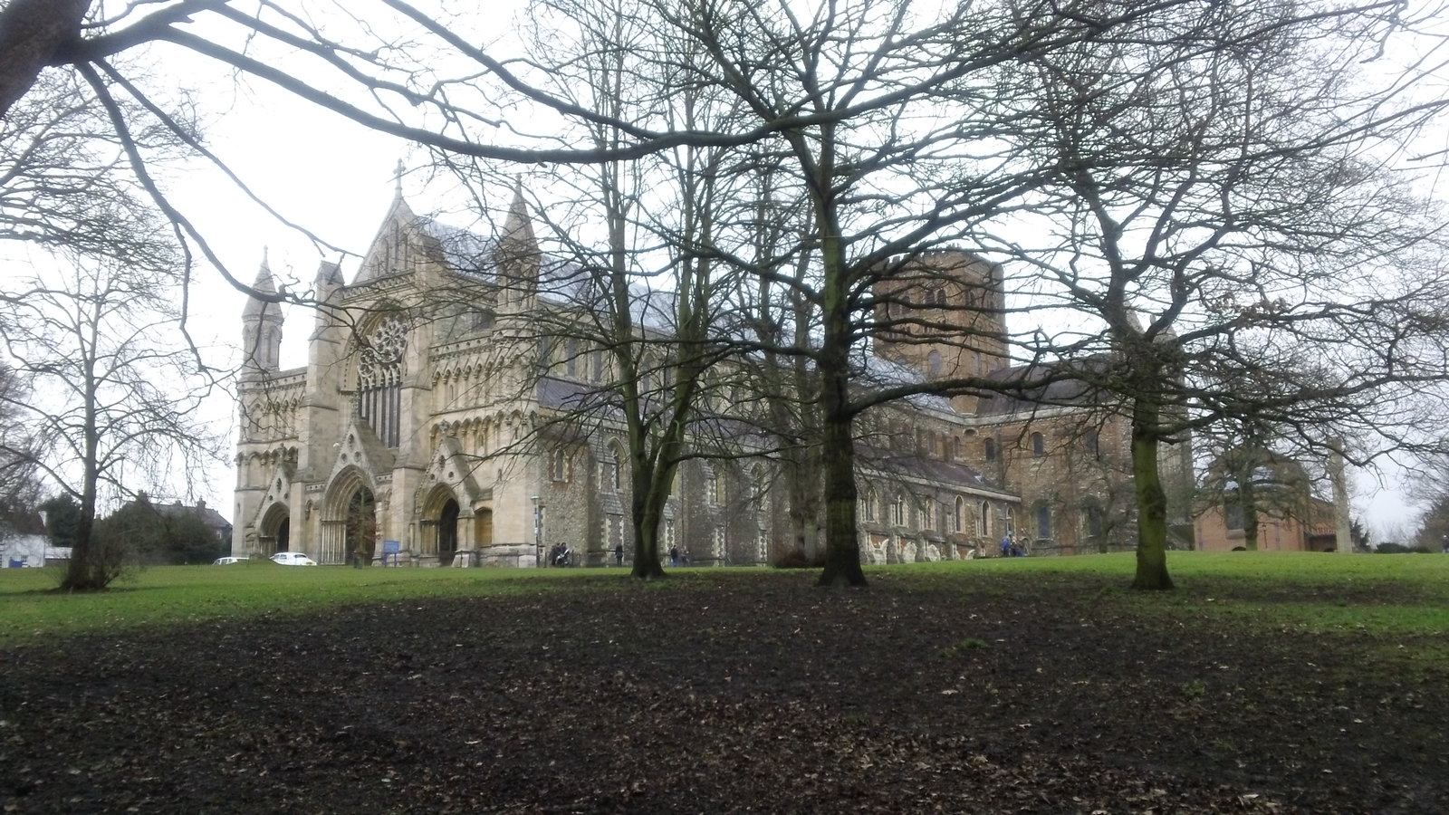 St Albans Cathedral in the not-so-bleak midwinter tea & cakes awaiteth.....