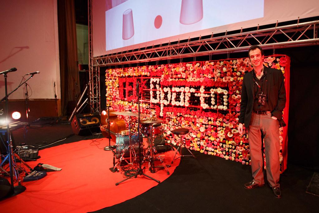 TEDxOporto 2014 Palco Pedro Geraldes
