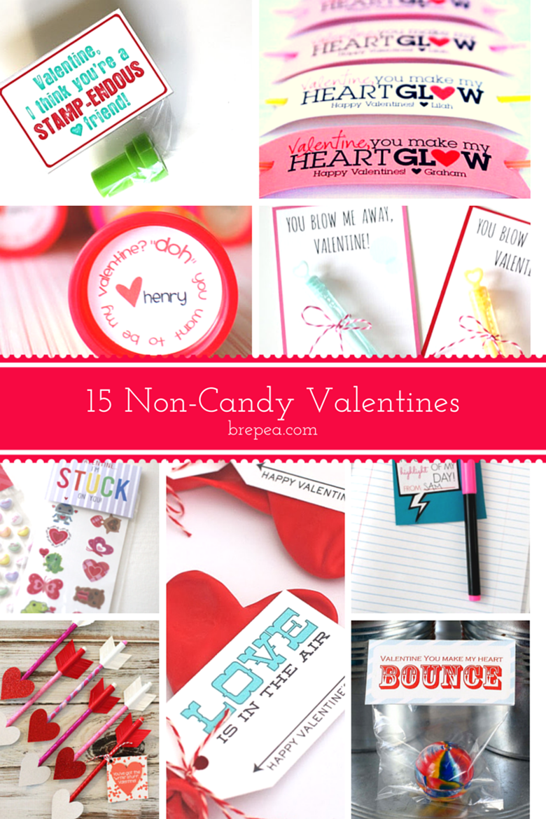 List of 15 non candy valentines crafts and gifts