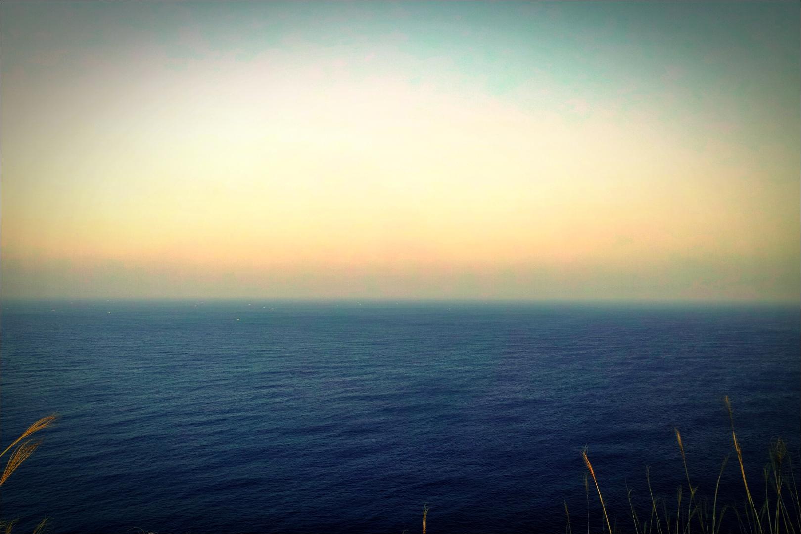 바다-'우도봉'