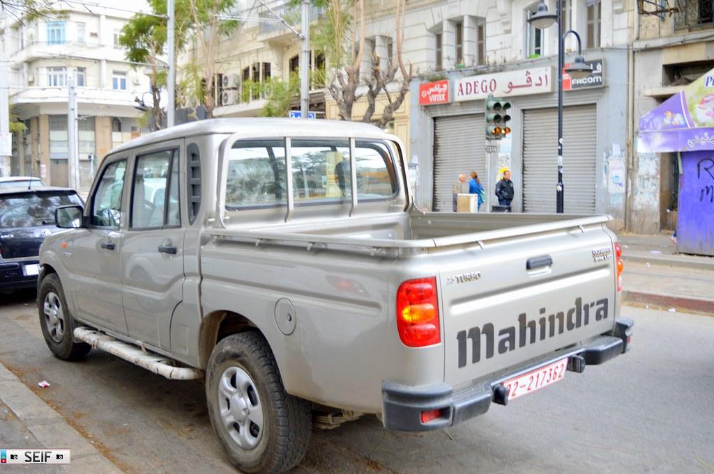 Mahindra Scorpio 2.5 Turbo Tunisia 2015