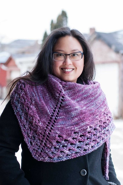 Winter Brunch Shawl