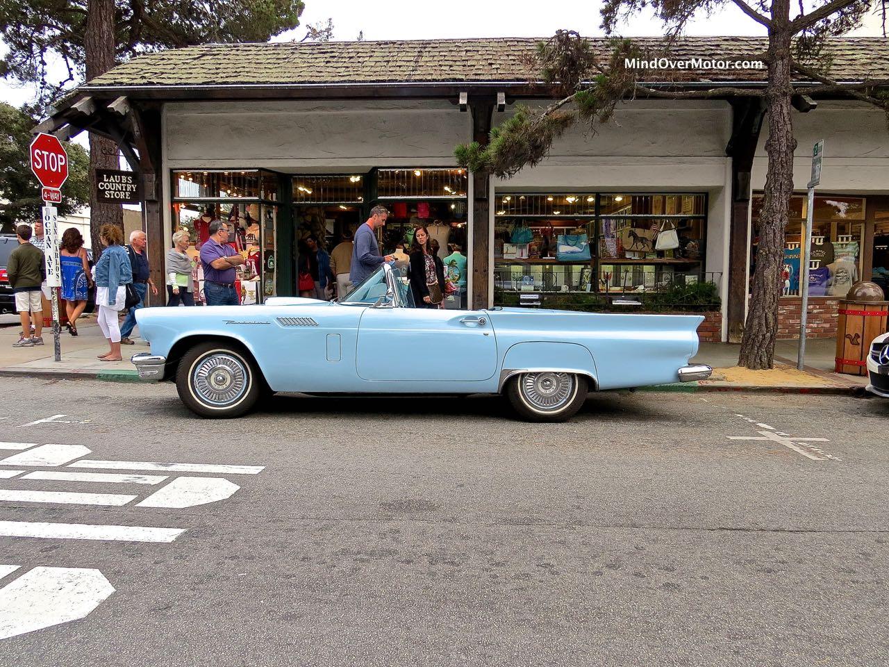 1957 Ford Thunderbird Profile