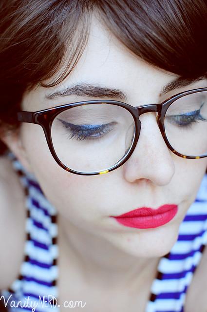 makeup e occhiali