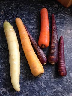 tarte tatin aux carottes